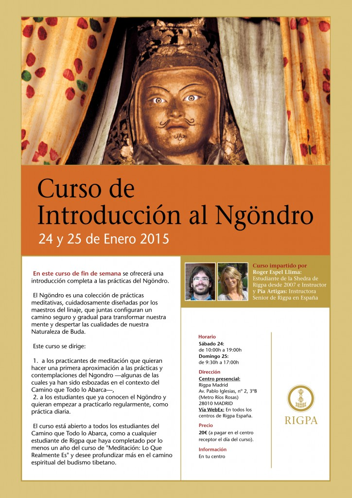 Curso Introduccion al Ngondro - Madrid 2015 A3